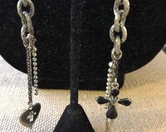 Funky OOAK Pierced Earrings