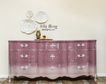 Nine Drawer French Provincial Dresser