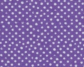 Erbse Patchwork Stoff Mini Konfetti lila