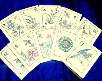 Mah Jongg Note Cards w/ Envelopes & Stickers