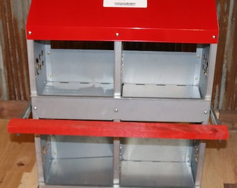 Duncan's Poultry 4 Hole Standard Nest Box  - MADE IN IOWA!