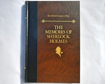 The Memoirs of Sherlock Holmes Sir Arthur Conan Doyle Vintage December 1988 Edition