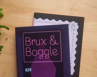 Combo pack ---- Brux & Boggle issue 4 PLUS Origin Story zine