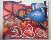 Graffiti Art on Canvas - ...