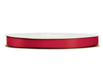 500 Yards Scarlet 5/8 Inch Double Face Satin Ribbon