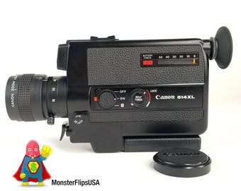 CANON 514XL Super 8 Camera FULLY FUNCTIONING and Serviced by MonsterFlipsUSA