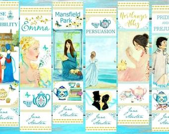 Jane Austen Collection Bookmarks