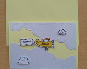 Thanks|Plane&Simple|Plane|Clouds