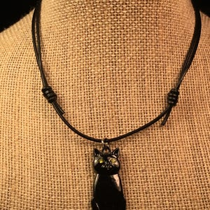 how to make leather necklace adjustable