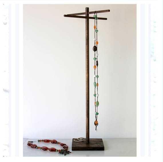 Long Tall Jewelry Organizer Long Necklace Tree Bracelet