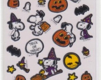 Snoopy Stickers - Halloween Stickers - Reference A4734-36