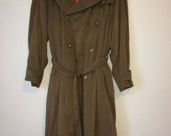 Men's Burberry London Trench Coat Vintage