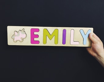 Personalized Name Puzzle for Girls