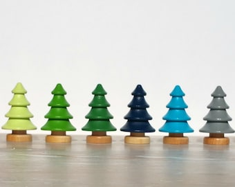Mountain Haus Studio accessory TREE- for pretend play, train tables, home decor, natural and woodland nursery and kids rooms