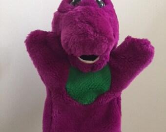 1992 Barney The Dinosaur Hand Puppet