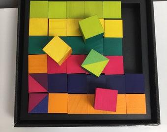Naef Mosaik blocks designed by Kathrin Kiener