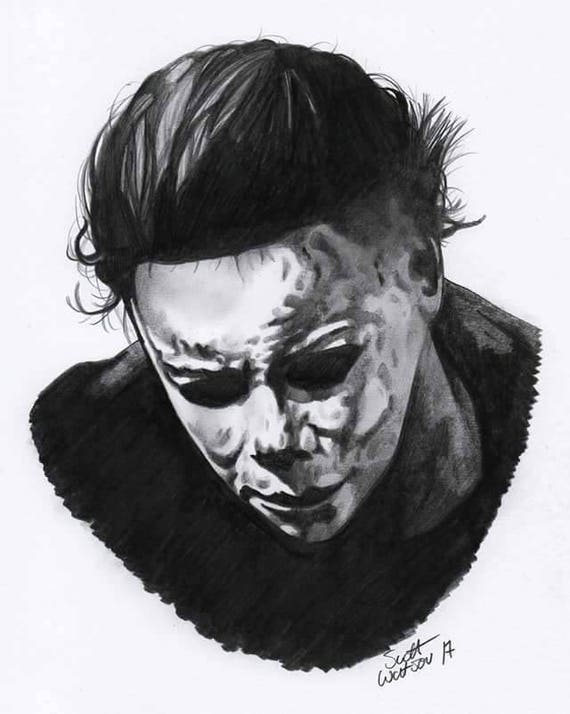 michael myers drawings images reverse search