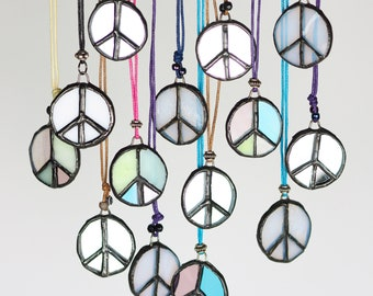 The Peace Sign Necklace