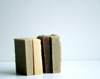 Babassu Soap Sample Set -  Babassu Soap Samples, No Coconut, No Palm, No Olive oil