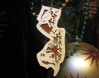 New Jersey Ornament