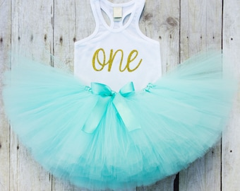 1st Birthday Girl Outfit, First Birthday Outfit Girl, 1st Birthday Tutu Outfit, First Birthday, One Year Old Girl Birthday Outfit, Tank Top