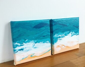 15x15cm mini seascapes