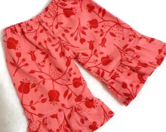 CUSTOM ruffle doll pants american style, 18 inch girl doll, 10 13 15 inch Waldorf doll clothes, 15 inch babies twins, m2m matilda jane pants