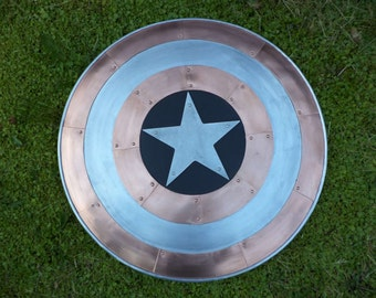 Copper and Aluminum Captain America Shield