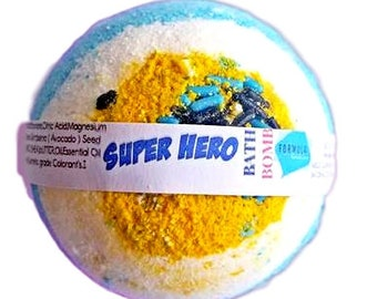 Super HeroClassic Bath Bomb| Wholesale Bath Bombs|5oz bath Bombs|Natural Bath Bombs|