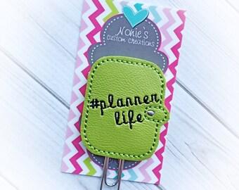 Planner Life Paper Clip- #Planner Life Paper Clip - Planner Life Paperclip - Planner Accessories - Planner Feltie- Planner Paper Clips