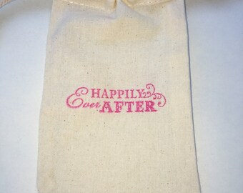 Happily Ever After Party Favor Bags / Set of 30/Wedding Favor Bags