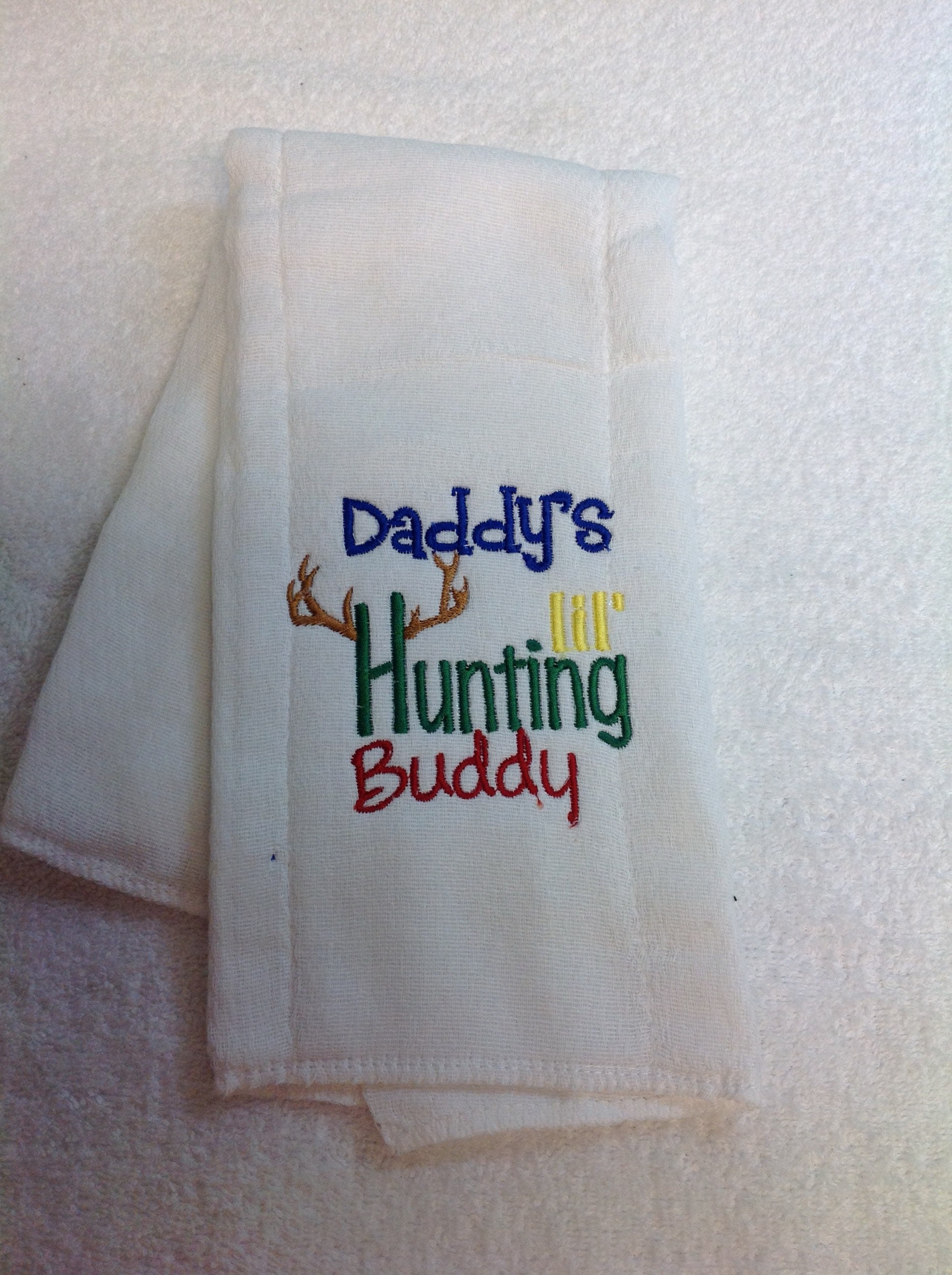 Personalized burp cloth custom embroidered baby gift burp rag shipping negle Images