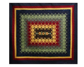 SALE - Blooming Nine Patch - A Gail Harding quilt - SAVE 20% on listed price, limited time