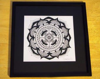 Dessin Mandala