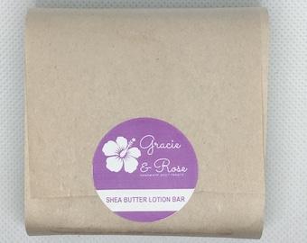 Organic Shea Butter Lotion Bar (2oz)