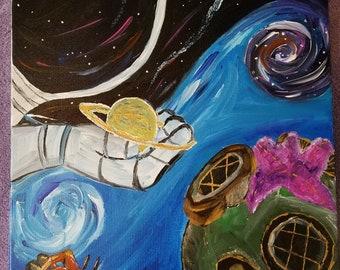 Ocean meets Space