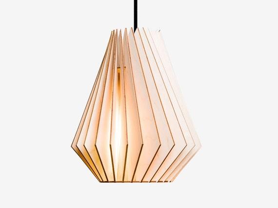 Wonderful HEKTOR Wood Lamp, Wooden Lampshade, Pendant Lighting, Hanging Light, Wood  Design