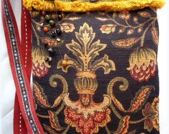 Handmade Boho Cross-Body Bag