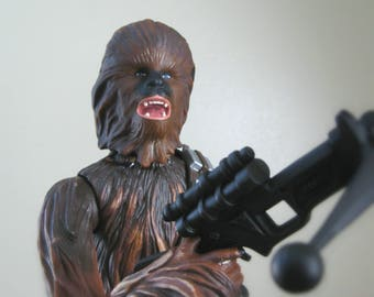 "Chewbacca Star Wars Action Figure, 12"" Star Wars Doll, 90's Kenner Star Wars Kids Toy Gift For Men"