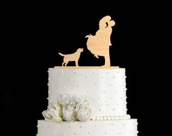 Labrador cake topper,labrador wedding cake topper,labrador wedding,labrador retriever cake topper,labrador retriever,golden retriever,58417