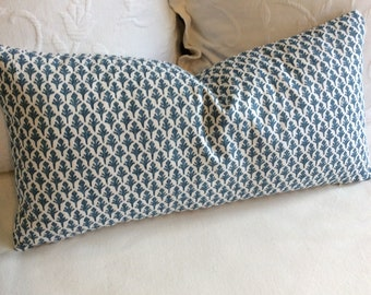 Ponce Blueridge pillow cover 18x18 20x20 22x22 24x24 26x26 13x26 12x20