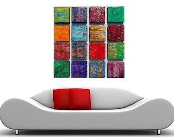 Wood Wall Art - Texture Painting - Large Abstract Painting - Large Wall Art - Abstract Art -  Modern Wall Art  Wood Wall Sculpture  Original
