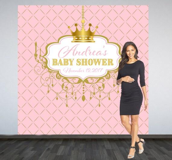 Royal Princess Baby Shower Backdrop Royal Baby Shower Photo