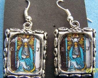 Tarot High Priestess Earrings