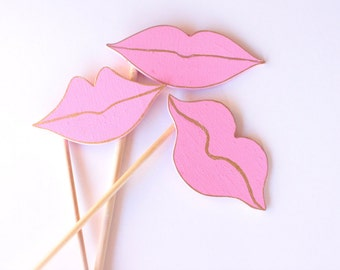 Photo Booth Lips | Photo Booth | Wedding Props | Lips | Photo Booth Props | Wedding Photo Booth | Party Ideas | Props