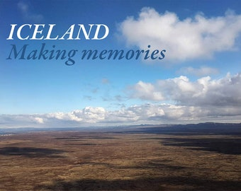 E-book Iceland: Making Memories. Photo book, photography, Iceland, waterfalls, nature, volcanic rocks, lava, rock formations, nature reserve