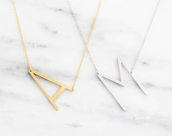 necklace custom gift marketplace shaped pendant simple name charm color hot gold heart marvelous letter products women lovers