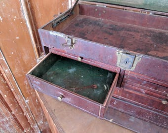 Vintage Machinist's Tool Chest 7 Drawer