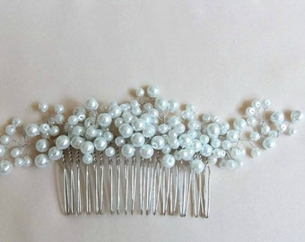Beautiful vintage inspired bridal hair comb, vintage hair comb, bridal hair comb, wedding hair comb, wedding hair piece, bridal headpiece