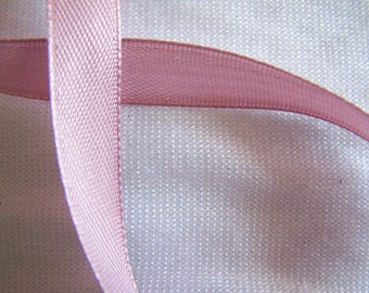 Satin ribbon, single sided, Orchid, width 10 mm (S-092)